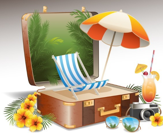 hot summer clip art