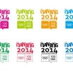 Nanjing 2014 Youth Olympic Games Logo Set Vector