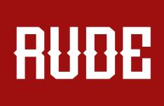 Rude Font