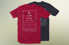 Dark and Red T-shirt Mockups PSD