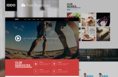 IDDO Fashion PSD Web Theme