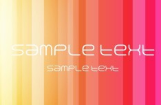 Bright Orange Abstract Background Vector 05