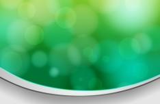 Fresh Green Bokeh Background Vector 02