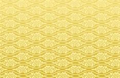 Seamless Golden Cloud Pattern Vector