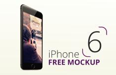 Free iPhone 6 & iPhone 6 Plus Mockups
