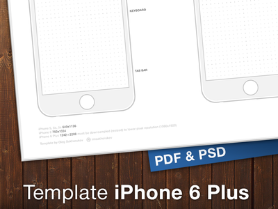 iphone 7 plus template pdf