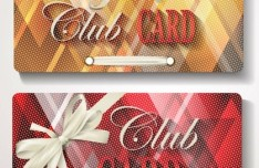 Elegant Club Invitation Card Template Vector