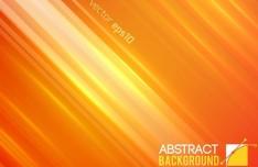 Orange Gradient Lights Background Vector
