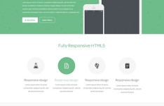 Free Landing Page PSD Templates