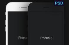 iPhone 6 Minimal Templates PSD