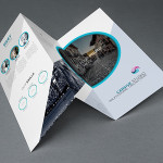 Creative Trifold Brochure Template PSD