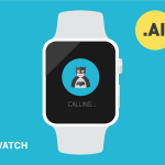 Apple Watch Flat Template Vector