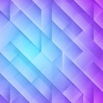 Purple Geometry Background Vector