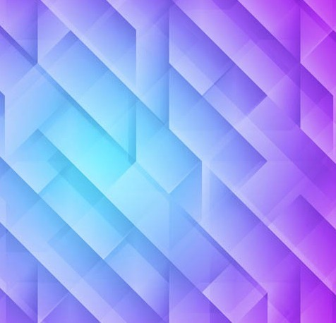 blue and purple geometry - photo #8