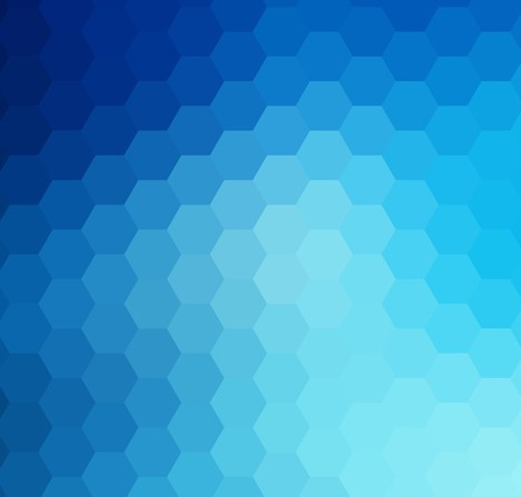 wallpaper blue hexagon white - photo #12