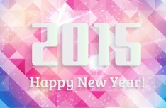 Free Happy New Year 2015 Design Resources