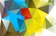 Modern Polygon Background Vector 02