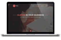 Daisy Landing Page PSD Concept