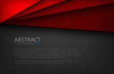 3D Abstract Shapes Background Vector 02