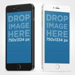 4 iPhone 6 PSD Mockups