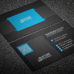 Code & Corporate Business Card Template PSD