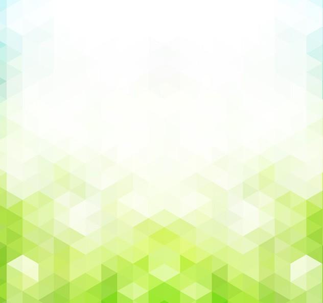 Free Green Hexagon Background Vector Titanui