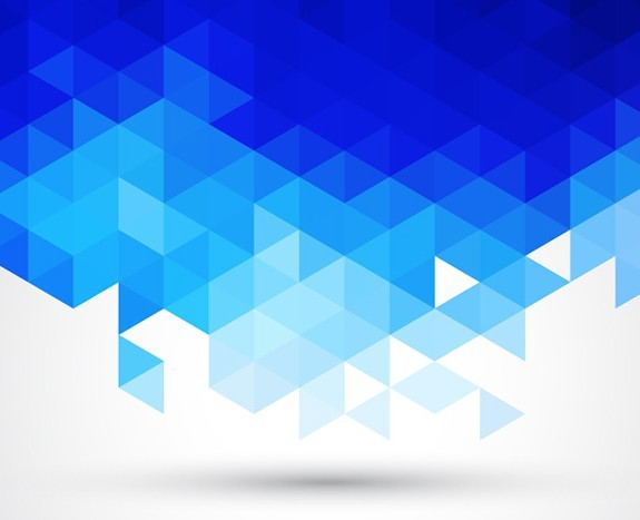 Free Blue Abstract Triangles Background Vector Titanui