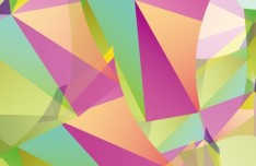 Colorful Abstract Triangles Background Vector