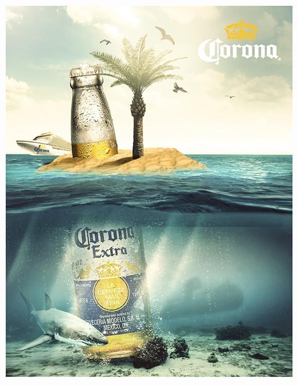 Free Corona Beach Flyer Template Titanui