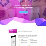 Chorine – Polygon One Page Template PSD