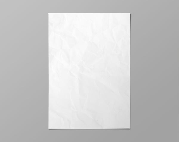 Free Blank Poster Mockup Template Psd Titanui