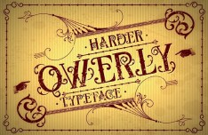 Qwerly Vintage Typeface