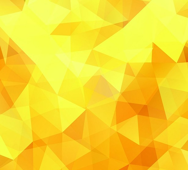 Free Bright Yellow Polygon Background Vector - TitanUI