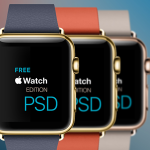 "Apple Watch ""Edition"" Templates PSD"