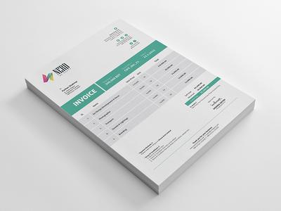 Free Invoice Template (PSD+Vector)   TitanUI