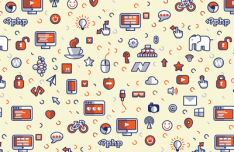 Creative Icons Pattern Vector 01