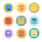 Emotion Character Icons Sketch