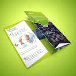 Tri-fold Corporate Brochure PSD