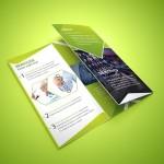 Tri-fold Corporate Brochure PSD