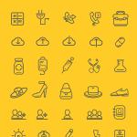 75 Outline Icon Set
