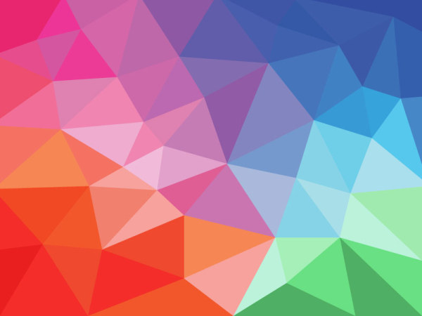 free flat gradient geometric background vector titanui