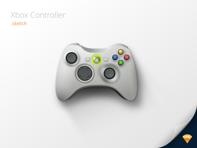 xbox 360 controller sketch - photo #11