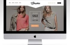 Shophia PSD eCommerce Template