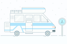 Adventure Truck Vector