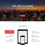 Flumine – Multi-Purpose Landing Page