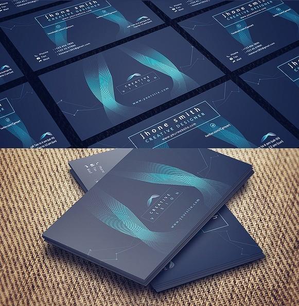 tech business card