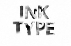Ink Type Font
