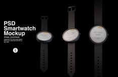 Smartwatch Mock-ups PSD