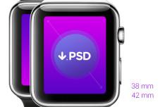 iWatch PSD Templates