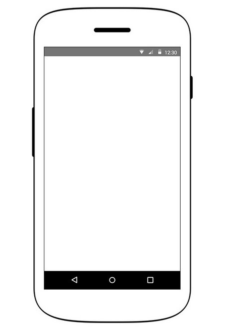 Free Android Device Wireframe Psd Titanui
